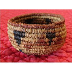 Miniature Mission Indian Basket