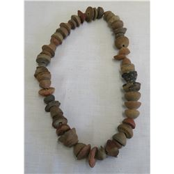 Pre-Columbian Clay Bead Necklace