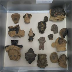 Pre-Columbian Black Head Collection