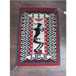 Pictoral Navajo Weaving