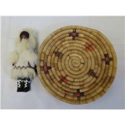 Alaska Basket & Doll