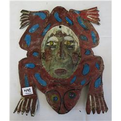 Mexican Copper Mask