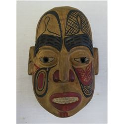 Painted Wood NWC Mask