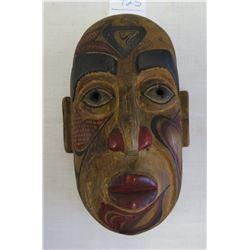 Painted Wood NWC Mask
