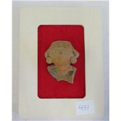 Framed Veracruz Bust