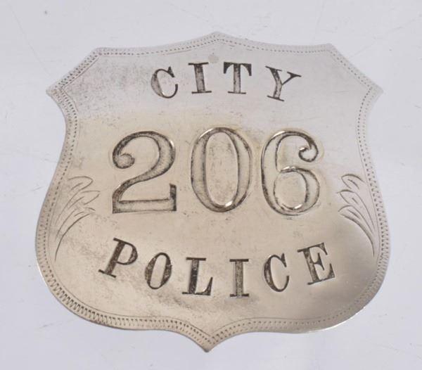 San Antonio Police Department Blanket Badge
