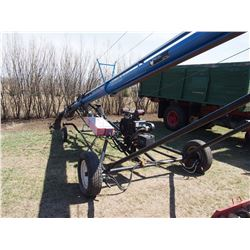Brandt Wheatheart 850 Auger 50' With Mover, LX990 Engine W/ Bin Sweep