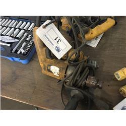 2 DEWALT ELECTRIC DRILLS
