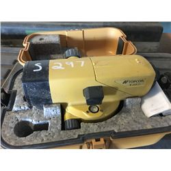 TOPCON AT54 LASER WITH STAND