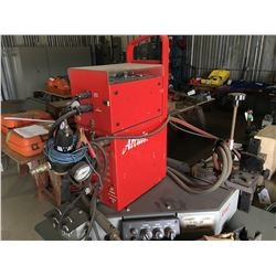 ARC AIR MODEL CONTRACTOR TITAN N-6000 PKG CARRIAGE PIPE WELDER WITH TRACKS, BRAND NEW NEVER USED,