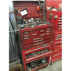 PROTO TOOL BOXES WITH CONTENTS