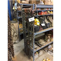 LOT OF ASSORTED CHAINS