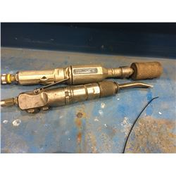MG-2E PNEUMATIC GRINDER, AND FCH-25 PNEUMATIC CHISEL