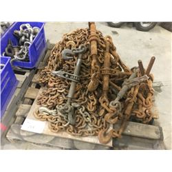 PALLET OF CHAINS