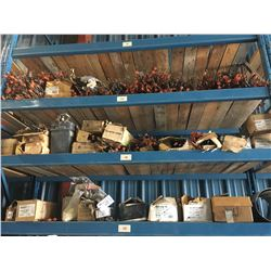 CONTENTS OF TOP 3 SHELVES INC. SNAP TIES, AND OTHER CONCRETE/FORMING SUPPLIES