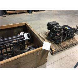 3''-12'' HOT TAP SYSTEM, COMPLETE WITH GAS DRIVE HYDRAULIC UNIT, USED 10 TIMES