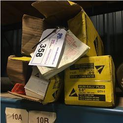 3X LANSAS SEPTIC PLUGS, 6-8'', NEW IN BOX