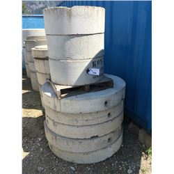 LOT OF TRIKON 1050 LIDS