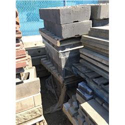 LOT OF ASSORTED PAVING STONES