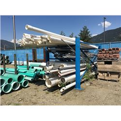 LOT OF ASSORTED SEWER AND ELECTRICAL PIPE