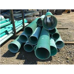 LOT OF ASSORTED STORM/SEWER PIPE