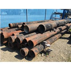 LOT OF DUCTILE IRON PIPE