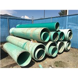 LOT OF SDR PERFORATED PIPE