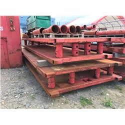 LOT OF 8' AND 6' X 20' SHORING CAGES, HEAVY DUTY