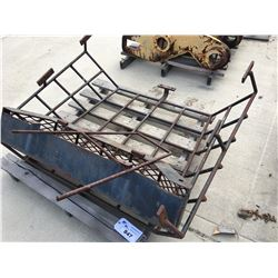 CAT 950 WINDOW GUARD AND LIGHT BAR CAGE