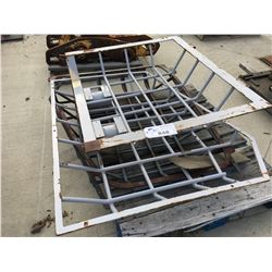 LOT OF TRACTOR CABIN CAGES