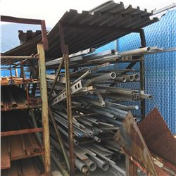 LOT OF PIPE WITH RACK