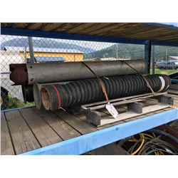 PALLET OF ASSORTED HOSE AND PIPE