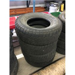 4 RADIAL XTX SPORT WILD COUNTRY LT265/75R16 TIRES