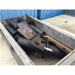 CRATE OF HDPE PIPE FITTINGS