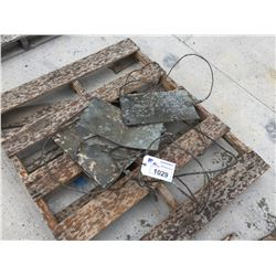 LOT OF ELECTRICAL GROUNDING PLATES