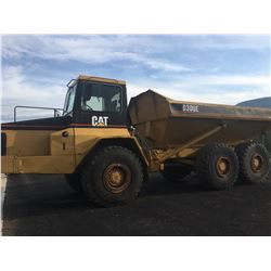 1997 CAT D300E 30 TONNE ARTICULATING ROCK TRUCK WITH TIA 23.5RZS TIRES, 13,420 HOURS, ENGINE