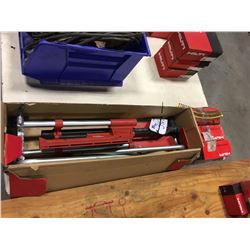 HILTI SDT30 DECKING TOOL, NEW, COMPLETE WITH 3 BOXES OF INVENTORY