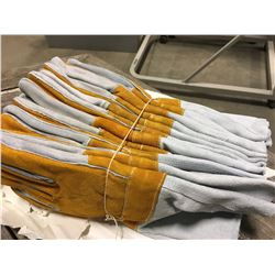 LOT OF 6 PAIRS OF NEW WELDING GLOVES
