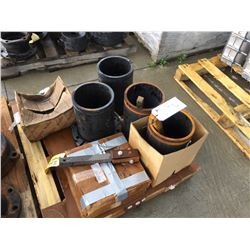 PALLET OF 12'' HYDRANT RISERS