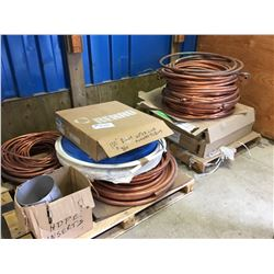 2 PALLETS OF NEW INVENTORY COPPER PIPE