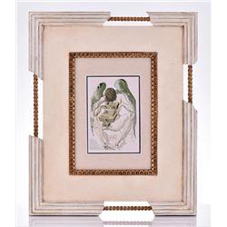 Salvador Dali Woodcut, Divine Comedy, Purgatory