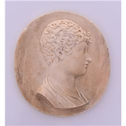 1812, Johan Franz Martini White Marble Memorial