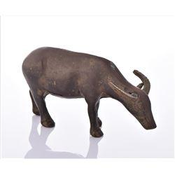 Antique Brass Water Buffalo.