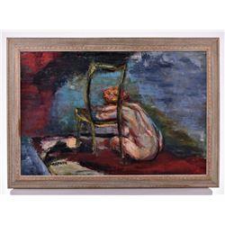 Henry Anspach, Listed Artist, Mid Century Modern