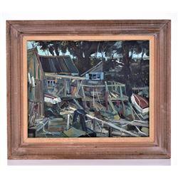 Dominic Di Stefano, 1924-2011, American Artist,