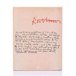 Abraham Rattner (1895 – 1978) Jewish American,