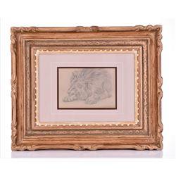William Huggins, Listed Artist, (1820-1884) Original