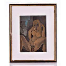 Harvey Parks, 1948-2017, Nude Woman Masturbating.