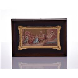 Miniature Mythological Figures Stone Lithograph