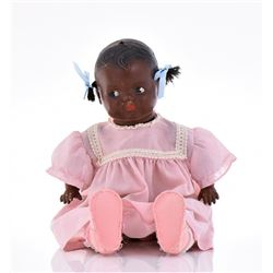 Antique Early 1900'S Black Baby Girl Doll.